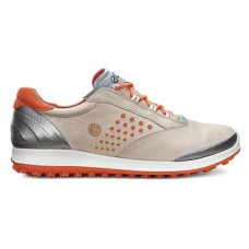 Ecco - Biom Hybrid - Oyester / Orange - 36