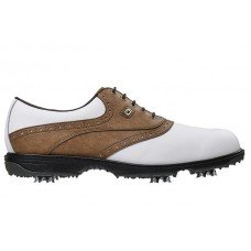 FootJoy - HydroLite - White / Brown - OutLet