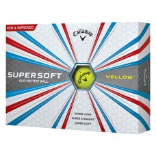 Callaway - SuperSoft Yellow - 12 Balls