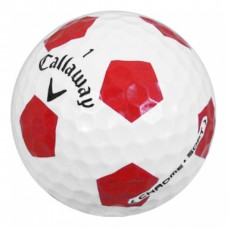 Chrome Truvis - White / Red - 12 Balls